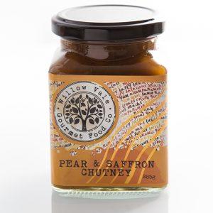 pear-saffron-chutney