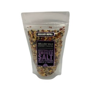 Australian Smoked Salt (with Pepper, Garlic & Chilli) – Refill Bag