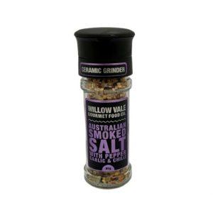 Australian Smoked Salt (with Pepper, Garlic & Chilli) – Ceramic Grinder